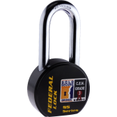 FEDERAL FD902R LS PADLOCK 63.5MM - SOLD SECURE BRONZE - CEN3