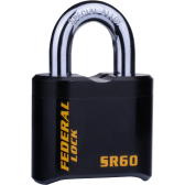 FEDERAL SR60 PADLOCK 62MM - EXTRA HEAVY COMBI PAD