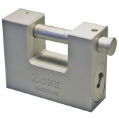 ZONE 790/84 SOLID STEEL EURO PROFILE PADLOCK BODY