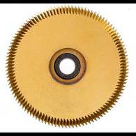 CYLINDER CUTTER (AC003 GOLD or CW1012T) TiN COATED FOR SILCA REKORD / BRAVO / JMA TITAN MASTER / KEYLINE CARAT / ORION / KEYOSK KEY MACHINE