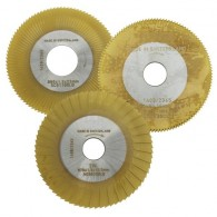 CYLINDER CUTTER (AC003 GOLD) TiN COATED FOR SILCA REKORD / BRAVO / JMA TITAN MASTER / KEYLINE CARAT / ORION / KEYOSK KEY MACHINE