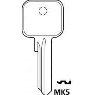 ZOO MK5 / V5 GEN 5 PIN CYLINDER BLANK