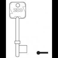 ZOO ZZ300 GEN KEY BLANK FOR 2177/2277 LOCKS