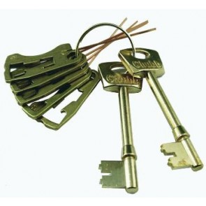 CHUBB / UNION 3G114 LEVER SET & KEYS