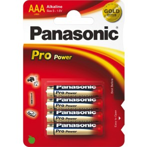 PANASONIC AAA BATTERIES (CARD OF 4)