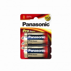 PANASONIC D BATTERIES (CARD OF 2)