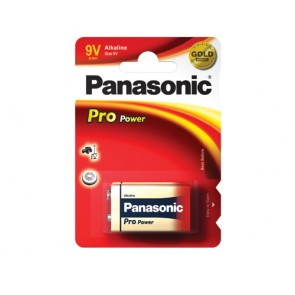 PANASONIC 9V BATTERY (SINGLE)