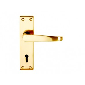 ECLIPSE LOCK FURNITURE BRASS VISI