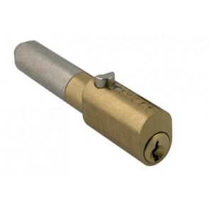 BRASS OVAL TYPE BULLET LOCK