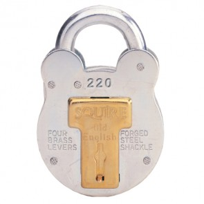 SQUIRE OLD ENGLISH 220 KA 38MM PADLOCK
