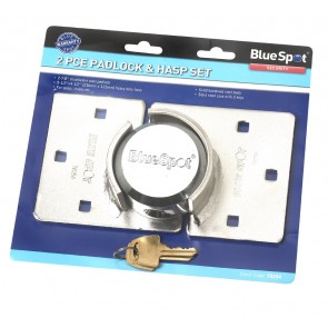 BLUESPOT HASP & PAD SET