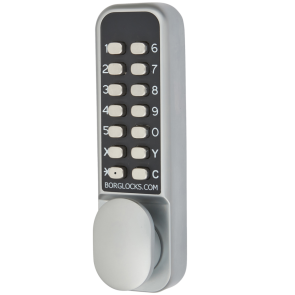 BORG 2201 ECP DIGITAL LOCK, PADDLE HANDLE WITH HOLDBACK & ECP CODING CHAMBER