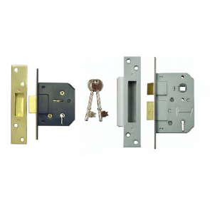BUDGET 5 LEVER MORTICE LOCKS