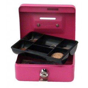 "CATHEDRAL CASH BOX 4"" WITH SLOT"