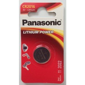 PANASONIC CR2016 BATTERY (SINGLE)