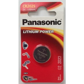 PANASONIC CR2025 BATTERY (SINGLE)