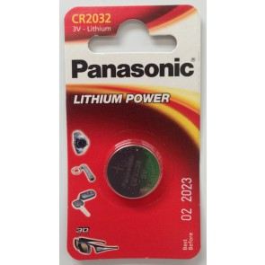 PANASONIC CR2032 BATTERY (SINGLE)