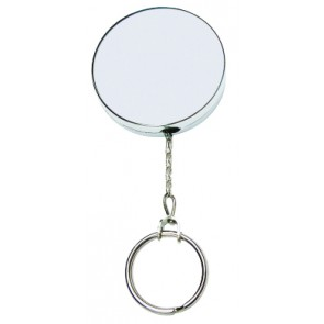RETRACTABLE KEY REEL - CHAIN (CARD OF 6)