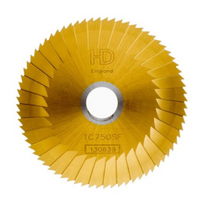 MORTICE CUTTER - SIDE & FACE (MC002 GOLD or CW1119T) TiN COATED FOR MANCUNA / RST MACHINE