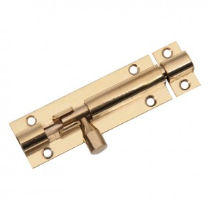 CROMPTON BARREL BOLTS BRASS & CHROME