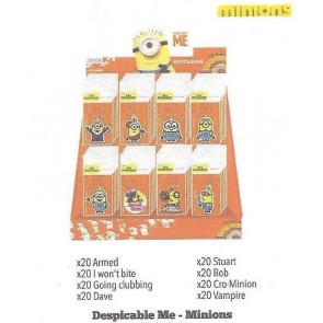DESPICABLE ME MINIONS PVC KEYRING DISPLAY