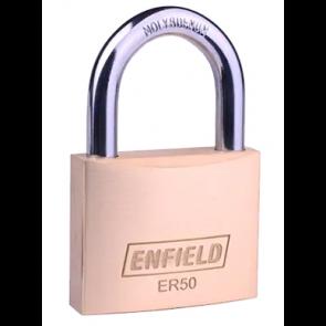 ENFIELD ER50 BRASS 50MM PADLOCK