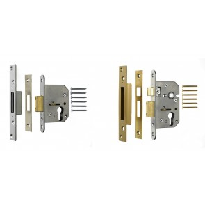 ERA VISCOUNT EURO CYLINDER MORTICE LOCK CASES