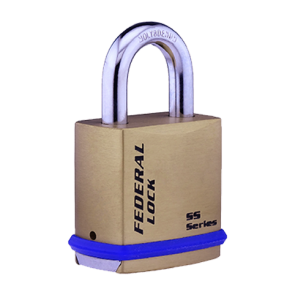 FEDERAL SOLID BRASS SNAP LOCKING PADLOCKS, FD710BSL, FD720BSL & FD730BSL