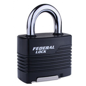 FEDERAL RE-KEYABLE LAMINATED PADLOCKS, 812RKW & 803RKW
