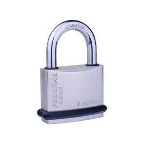 FEDERAL SOLID BRASS NICKEL PLATED SF NPS PADLOCKS, SIZES 30mm - 70mm