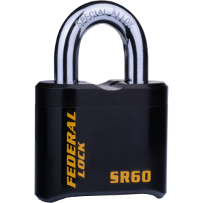 FEDERAL SR EXTRA HEAVY DUTY RESETTABLE COMBINATION PADLOCKS