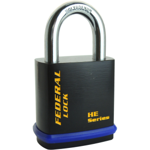 FEDERAL 406HE PADLOCK 46MM - PADLOCK FOR EURO CYLINDER / 6.35MM SHACKLE