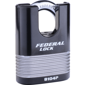 FEDERAL FD8104P C/S PADLOCK 63MM - LAMINATED