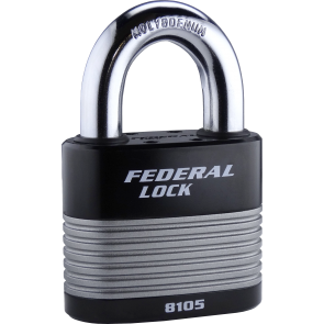 FEDERAL FD8105 PADLOCK 70MM - LAMINATED