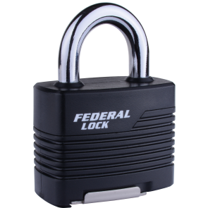 FEDERAL FD812RKW/JR PADLOCK 53MM - RE-KEYABLE LAMINATED PAD