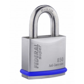 FEDERAL FD850 SS PADLOCK 50.8MM - ANTI CORROSION