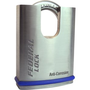 FEDERAL FD860P C/S SS PADLOCK 63.5MM - ANTI CORROSION
