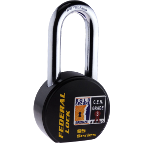 FEDERAL FD902R LS PADLOCK 63.5MM - SOLD SECURE BRONZE - CEN3