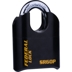 FEDERAL SR60P C/S PADLOCK 62MM - EXTRA HEAVY COMBI PAD