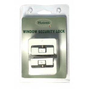 HUGHES HW1819WH CASEMENT WINDOW LOCK (8K101)