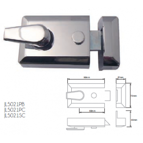 JEDO DOUBLE LOCKING NIGHT LATCHES