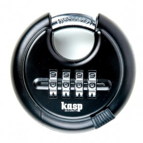 KASP K11670D COMBINATION DISCUS PADLOCK 70MM