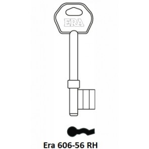 ERA 606-56RH OLD GENUINE 3 LEVER BLANK