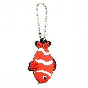 KEY BUDDIES - NEON FISH - CARD OF 12
