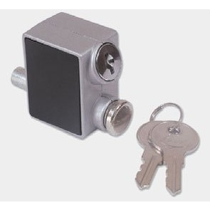 PATON PD145 PATIO LOCK WHT / SIL