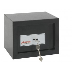 PHOENIX SS0721K COMPACT HOME / OFFICE SAFE - KEY LOCKING