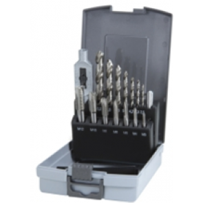 RUKO TERRAX TAP & DRILL BIT SET OF 15 IN CASE