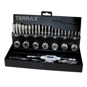 TERRAX RUKO 31 PIECE HSS-G TAP & DIE SET