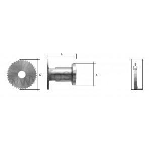 WARD CUTTER (TOP HAT / SC010) FOR SILCA LANCER MORTICE KEY MACHINE