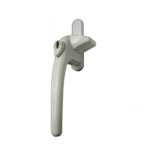 SCHLOSSER APTO COCKSPUR WINDOW HANDLE KIT WHITE